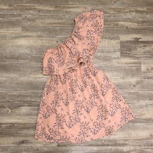 Lush Asymmetrical Dress- S